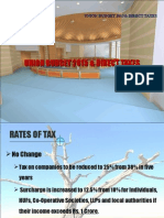 Indian Budget 2015 Direct Taxes