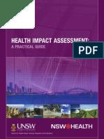 HIA a Practical Guide - NSW Health CHETRE Australia - 2007
