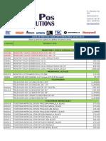Possolutions Lista Precios Dt Oct2014