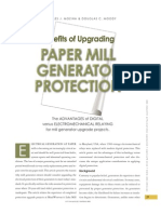Paper Mill Generator Protection