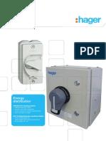 Isolator Hager _catalue 2011