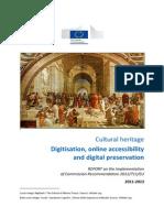 Recommendation 2011 2013 Progress Report