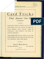 Clever Card Tricks
