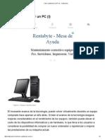 01-Cómo Repotenciar Un PC (I) - Culturación