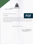 Lettre Commissaire Scandale Prison Gonaïves