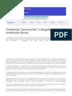 Prensa Corte IDH Caso Sawhoyamaxa