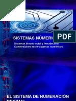 Conversión de Sistemas de Numeración.
