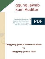 Tanggung Jawab Hukum Auditor