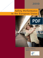 Railway Safety Performance in the European Union 2010