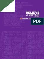 The UKIP Manifesto 2015