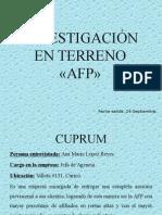 Investigación en terreno Gestión de las comunicaciones.pptx