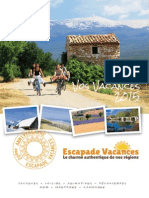Escapade Brochure 2015