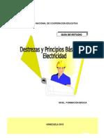 Guía Destrezas y Principios Básicos de Electricidad