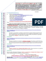 20150415-g. h. Schorel-hlavka o.w.b. to Mr Tony Abbott Pm-re Religious Exeptions - Immunisations