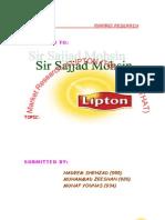 lipton tea survey