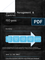 Quality control ISO-9001