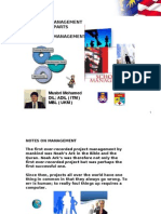 Notes on Management 1 Ppt