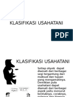 3 Klasifikasi Usaha Tani