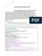 Matlab Simulations for Basic Proportional Navigation