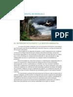 Gestion Ambiental en Venezuela