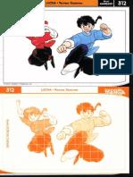 Manga Cards 312_Lucha_Ranma Saotome_Nivel Avanzado