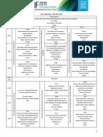 Icnf2015 - Final Program