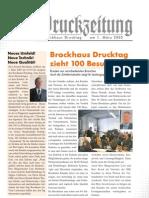 Zum Brockhaus Drucktag