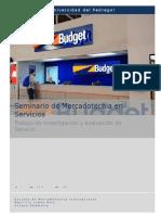 Budget (Seminario Servicios)