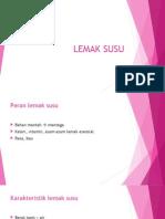 LEMAK SUSU