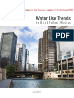 Water Use Trends