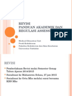 Sosialisasi Revisi Akademik