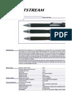 Uni Jetstream (1.0mm, Retractable) REVISAR - ESPAÑOL