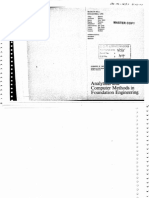 Analytical and Computer Methods in Foundation Engg, Joseph E.bowles, 1974