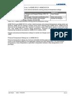 EHB en 10.4 Flanged Connections Acc to ASME B16.5 ASME B16.34