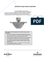 Caudalímetros de Gas Natural Comprimido Modelo CNG050