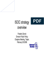 ISOC strategy overview