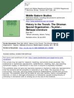 The Ottoman Special Organization Teskilati Mahsusa