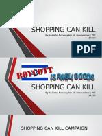 Shopping Can Kill
