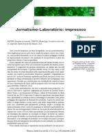 Jornalismo-Laboratório impressos