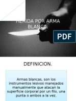 Herida Por Arma Blanca