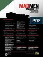 Mad Men Reading List