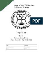 Physics712ndLE1stsem20112012