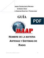 Antenas   GUIA MAP NEW 2013