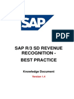 Revenue Recognition SAP