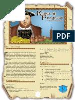 King's Progress English Rules