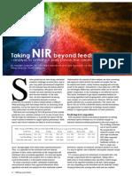 Taking NIR beyond feedstuffs - analysis to enhance pork production profitability