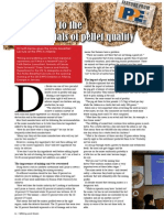 Waking up to the fundamentals of pellet quality