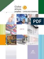 Catalogo Ciclos Formativos 2015 - Editex