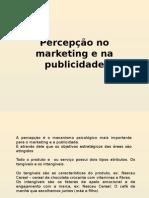 Percepção No Marketing e Na Publicidade
