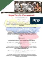 Reglamento Foro Yurifansvenezuela